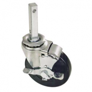 Caster, 4″ Swivel, With Brake