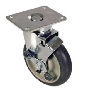 Caster, 5″ Swivel Caster With Brake