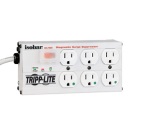 Hospital Grade Surge Suppressor, 6 Receptacles, 15′ Cord
