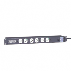 Hospital Grade  Rack Mount Power Bar, 12 Receptacles