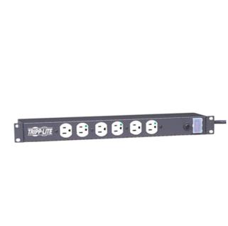 Hospital Grade  Rack Mount Power Bar, 12 Receptacles
