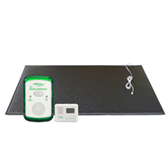 Wireless Call Monitor System, Floor Mat & LCD Pager – WMFM5-SYS