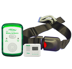Wireless Call Monitor System; Easy Release Seat Belt & LCD Pager – WMSB90-SYS