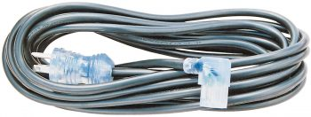 Hospital Grade Power Cord, 10″ With Right Angle Female Business Connector