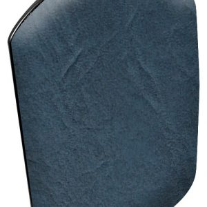 Leg Rest Pads, Black Base (50-Invacare Dark Blue)