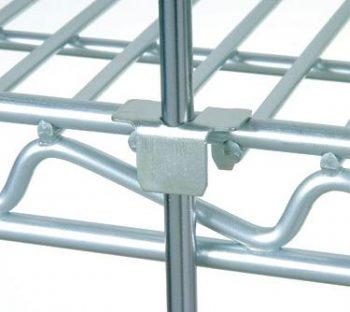 Nexel Clip Set For Shelf Rods