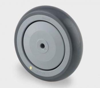 Wheel, 8″ Electroconductive, Polyurethane Tread, Polymide Wheel Centre And Precision Ball Bearing
