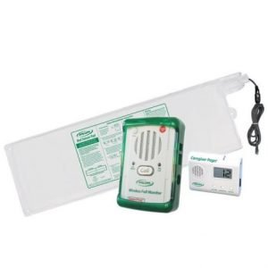 Wireless Call Monitor System; 10 X 30″ Bed Sensor & Pager – WMBR1-SYS