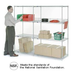 Nexel Add-On Shelving
