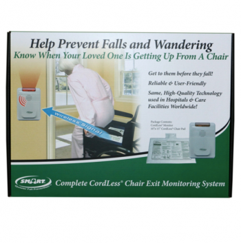 Economy CordLess® Fall Alarm With CordLess® Chair Pad (10″x15″) – RP-433C1-SYS