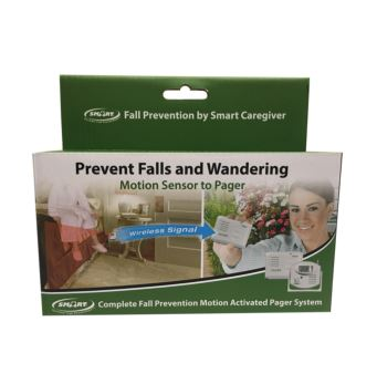 Motion Sensor To Caregiver Pager System – RP-TL-5102MP Retail Packaged