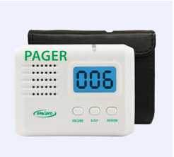 433 Wireless Caregiver Pager With Reset Button And LCD Display – 433-PRB